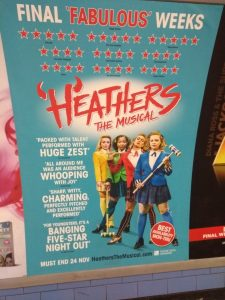 Heathers The Musical Theatre Poster